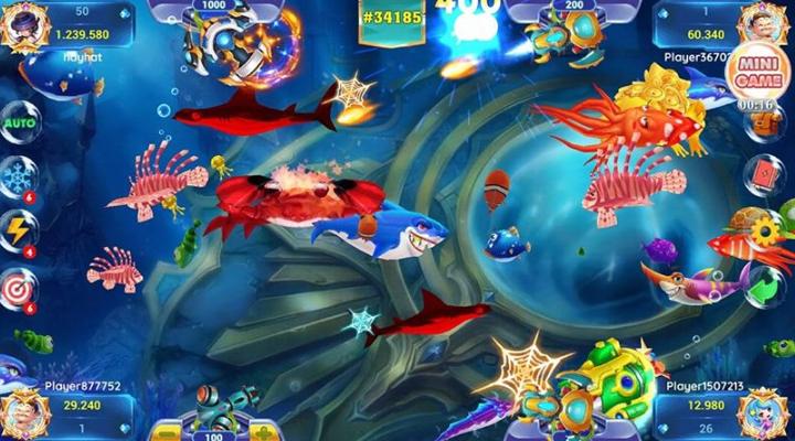 Hình ảnh bancathecao club apk in Tải bắn cá thẻ cào apk - Game bctc cho Android mới nhất